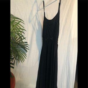 Women's black high/low Summer dressSize medium